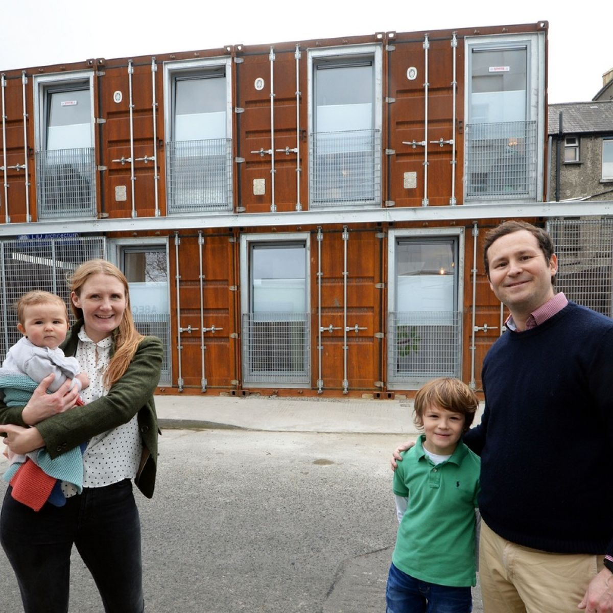 Container Haus Irland Best Of 2017 Seven Shipping Containers Become A Family Home