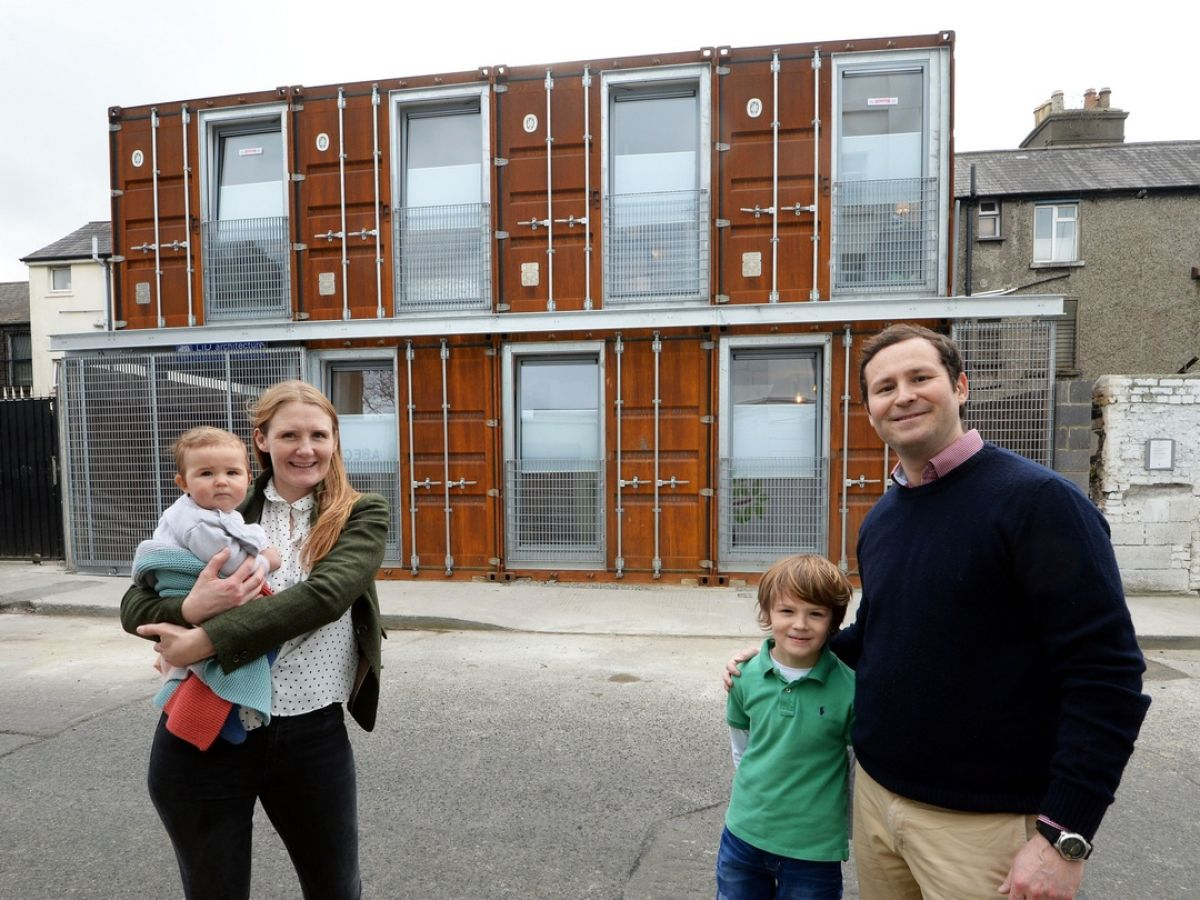 Container Haus Aus österreich Living In A Box The Ringsend Home Made From Shipping Containers