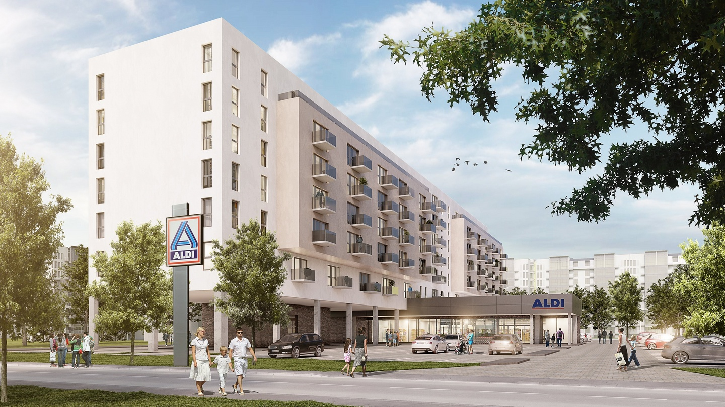 Aldi Nord Computer Aldi Owners To Build 2 000 Apartments In Berlin