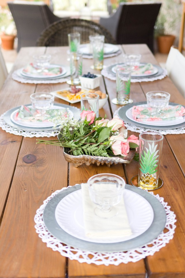Tablescape Outdoor Entertaining