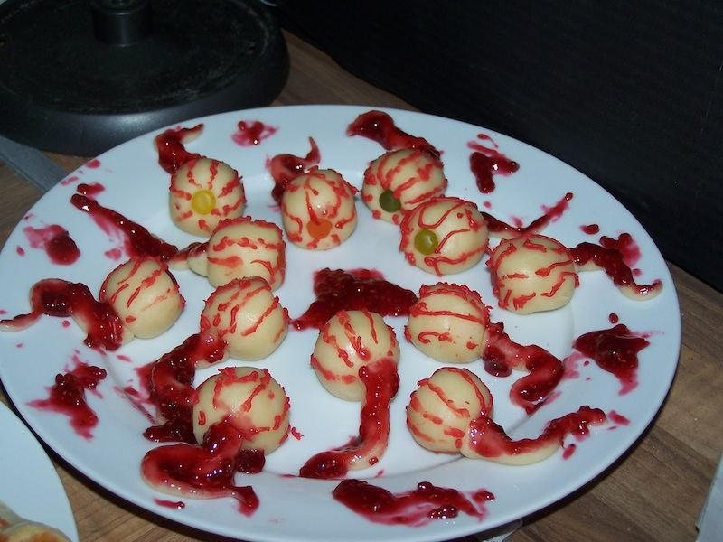 Les desserts d'Halloween (ou le goûter d'Halloween)