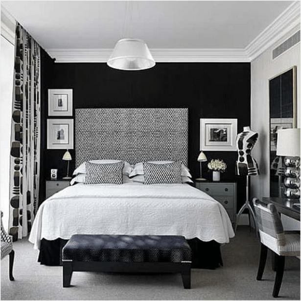 Jugendzimmer Gestalten Schwarz Weiß