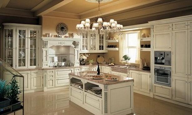 Küche Weiß Holz Landhaus