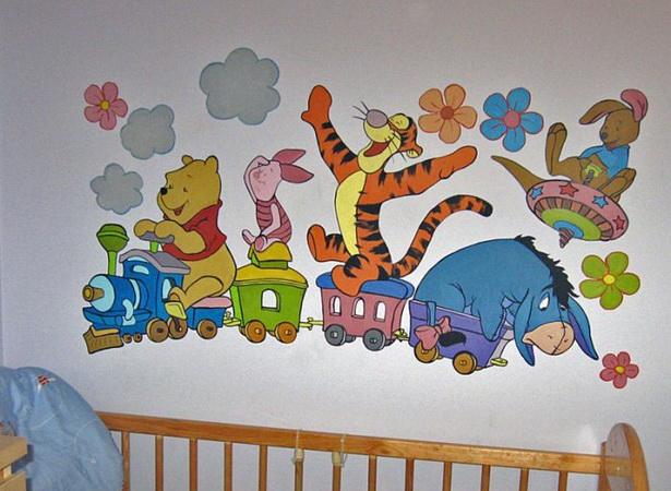 Kinderzimmer Ideen Winnie Pooh | Stickbilder Für Kinder Malen Nach ...