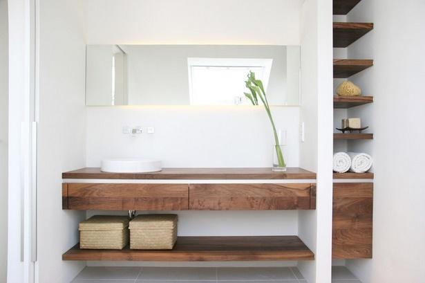 Badezimmer Holz Modern