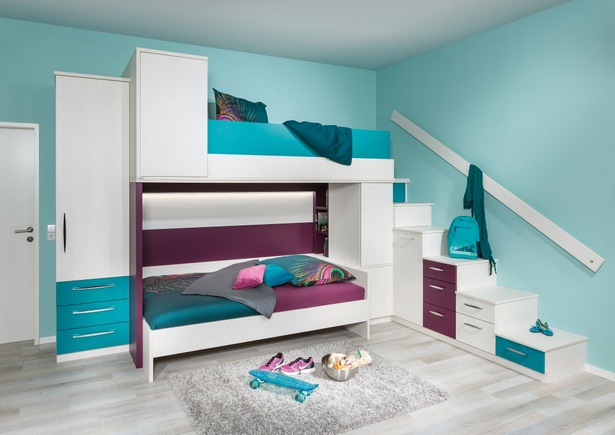 Jugendzimmer Komplett Mit Hochbett