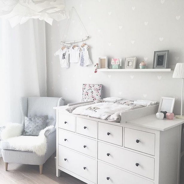 Babyzimmer Grau Mint