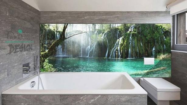Glasbilder Für Badezimmer Geeignet
