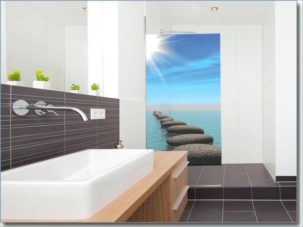 Glasbilder Für Badezimmer