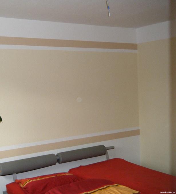 Wandgestaltung Mit Farbe Schablonen