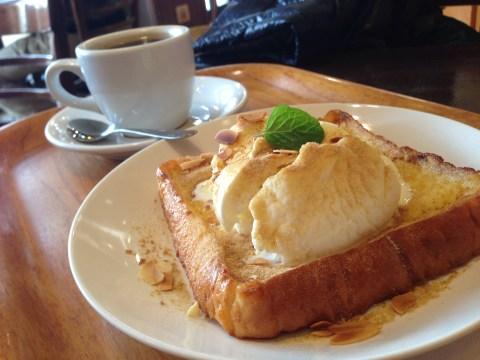 ラベルコリーヌのフレンチトーストセット