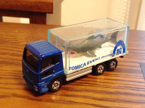 トミカ博 限定サメトラック