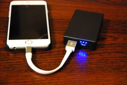 iPhone充電