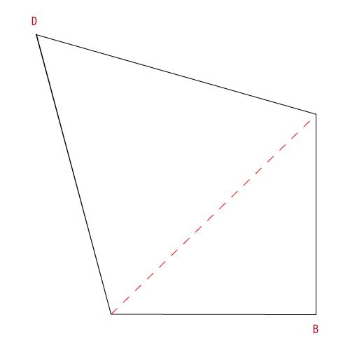 手順4:破線に合わせて折る