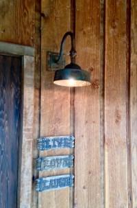 Ironglass Lighting | Barn Light Sconce