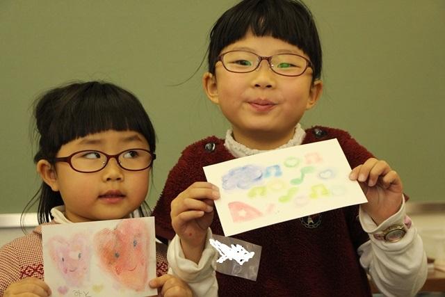 パステルアート パステル画 こども お絵かき ワークショップ 亥の子谷コミュニティセンター 色のね 明日香