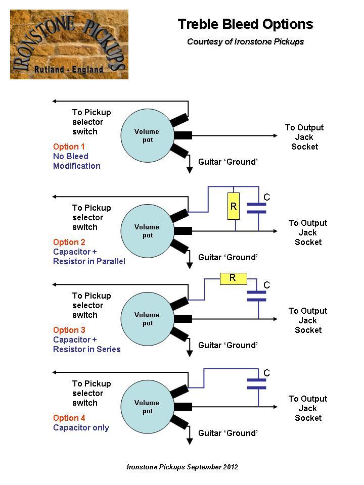 Telecaster Wiring Diagram Treble Bleed - 1efievudf