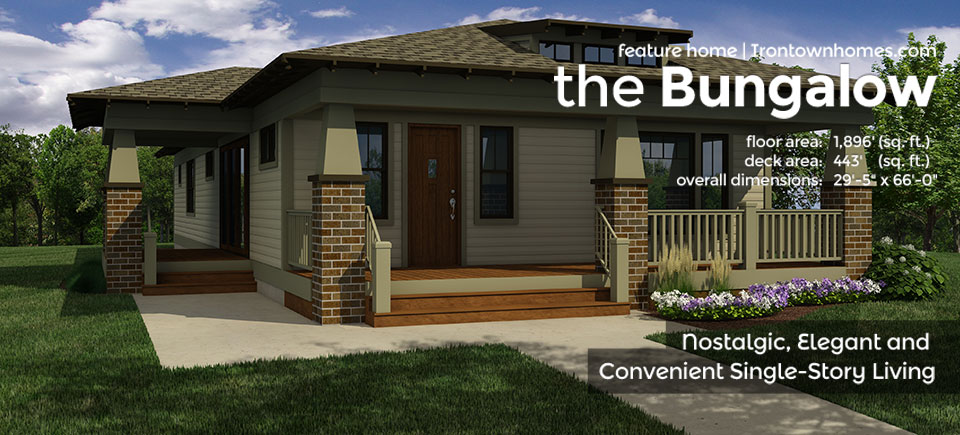 The Bungalow – Irontown Homes