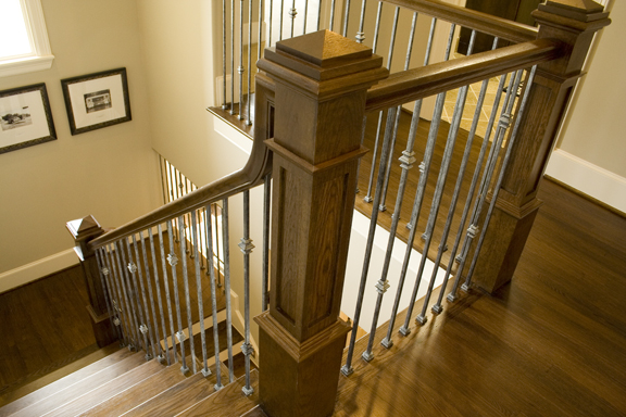Staircase And Balcony Remodel Idea Gallery Ironwood