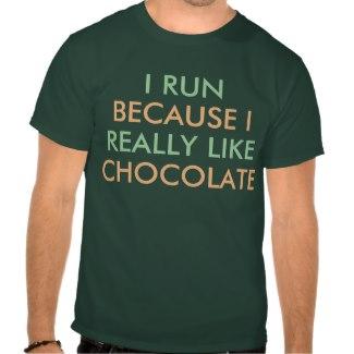 I Run Because I Really Like... Shirts