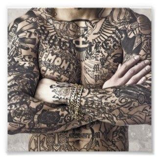 Tattoo Male Body Photo Gifts