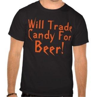 Halloween Beer Saying Shirts