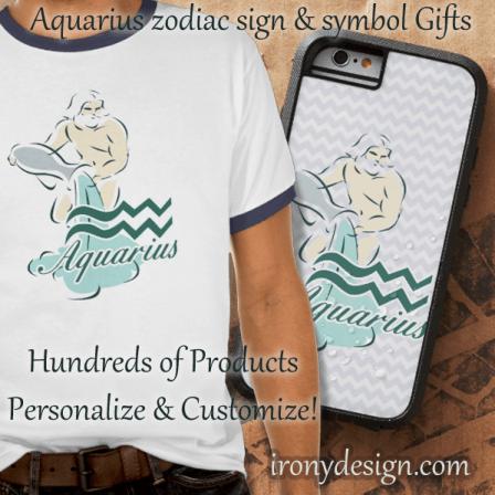 Zodiac Sign Aquarius Products