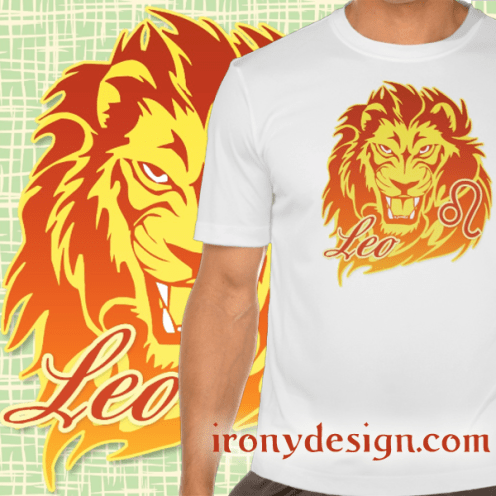 Zodiac Sign Leo Merchandise