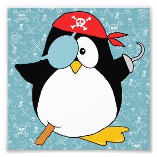 Pirate Penguin Gift Products