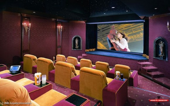 Theater Room Ideas Elegant Movie Room Interior Decor - Iroonie.com