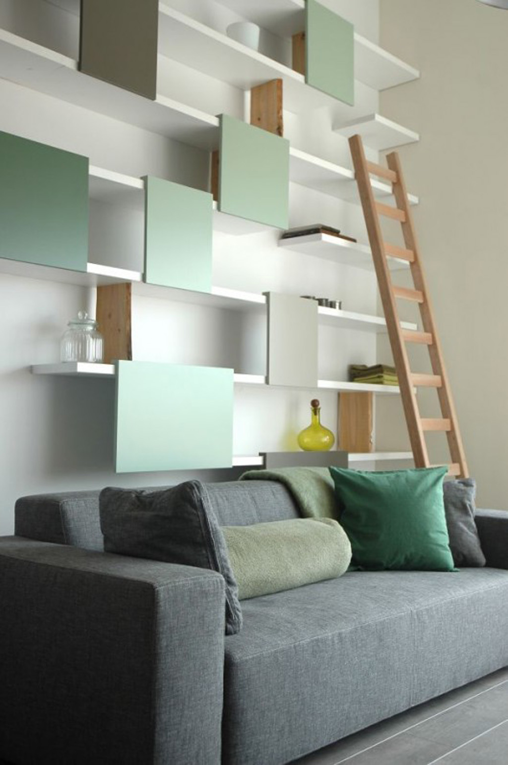 Wohnzimmer Regal Hinter Sofa Contemporary Wall Shelf Designs - Iroonie.com