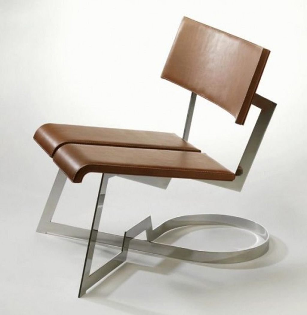 Cool Modern Chairs Unique Leather Chair Designs Iroonie