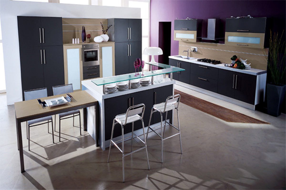 Contemporary Kitchen Cabinet Colors Space Saving Modern Kitchen Ideas Iroonie