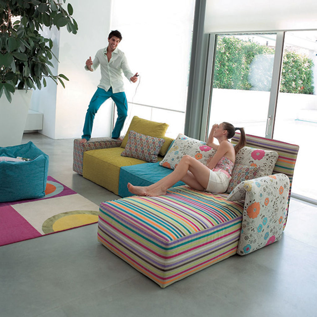 Colorful Sofas Colorful Sofa Set Designs Iroonie