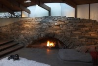 unique stone fireplace ideas - Iroonie.com