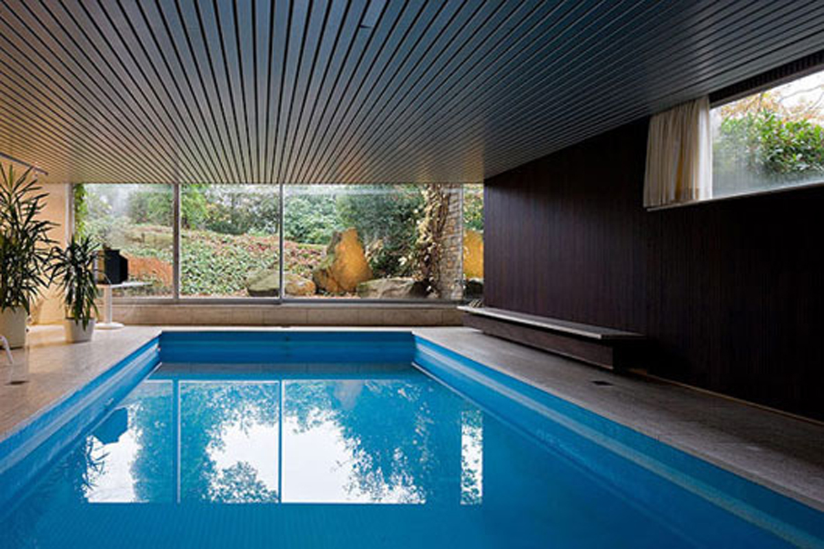 House With Pool Inside Comfy Indoor Swimming Pool Iroonie