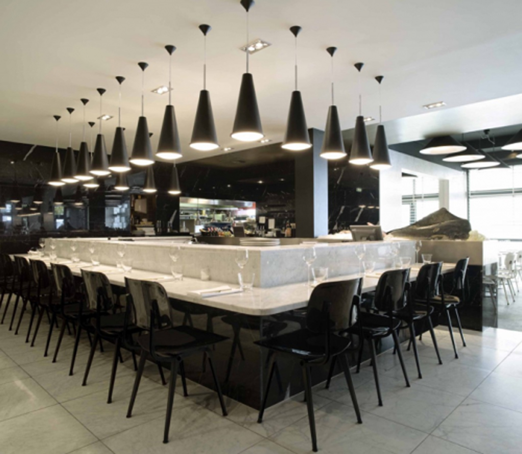Modern Restaurant Kitchen Design Modern Restaurant Bar Design Pictures Iroonie