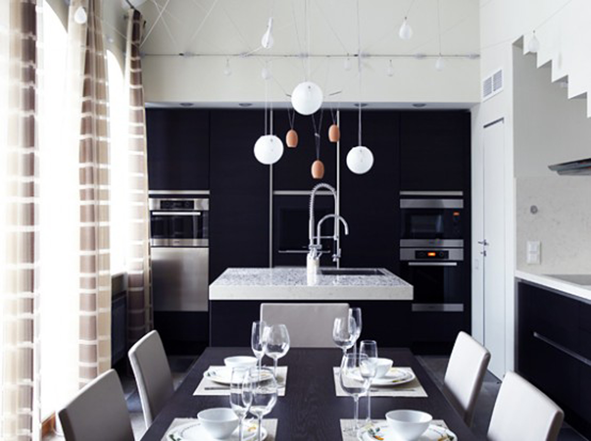 Dining Room Black And White Black And White Dining Room Decor Iroonie