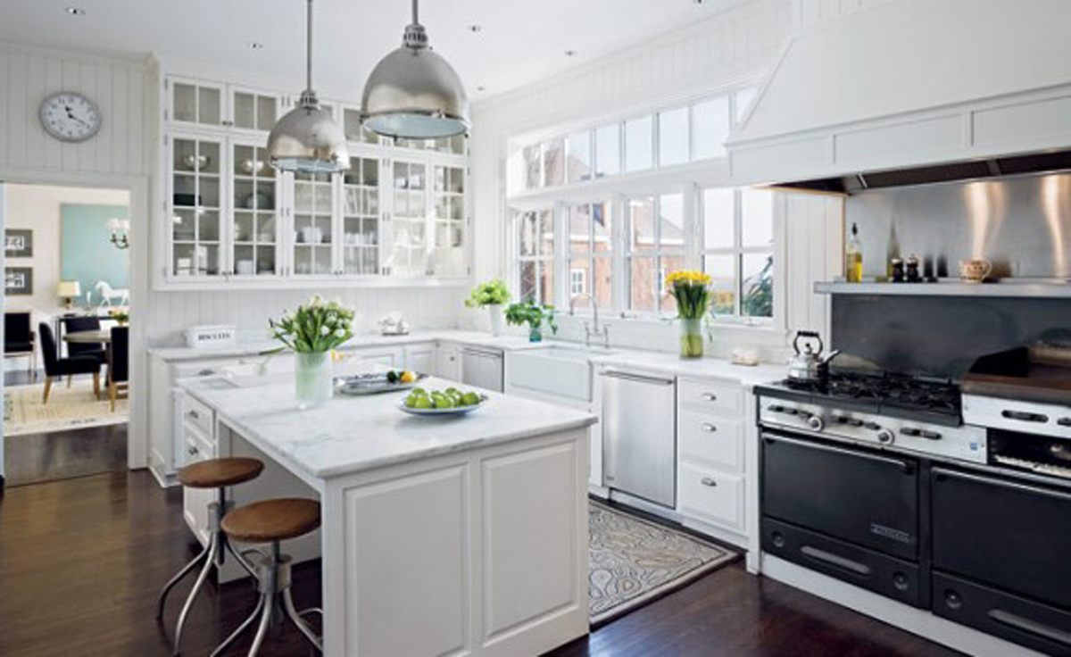 White Green Kitchen Ideas Handsome White Green Kitchen Furnishing Ideas - Iroonie.com