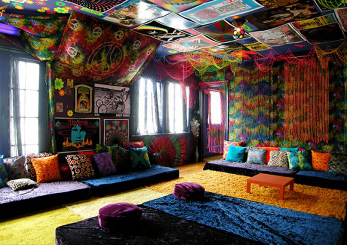 Rainbow Bedroom Ideas Rainbow Color Decorations Designs Iroonie