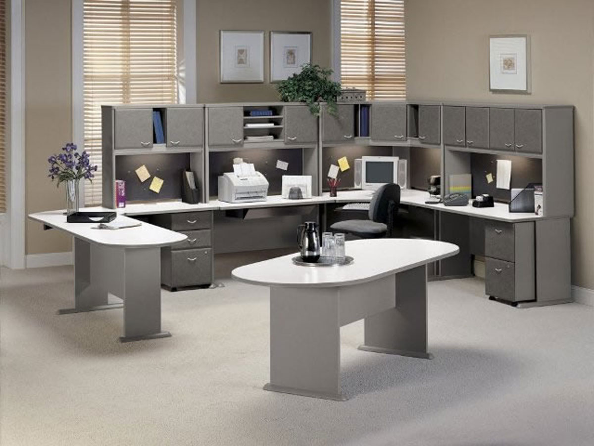 Modern Office Furniture Design Inspiring Modular Office Furniture Iroonie