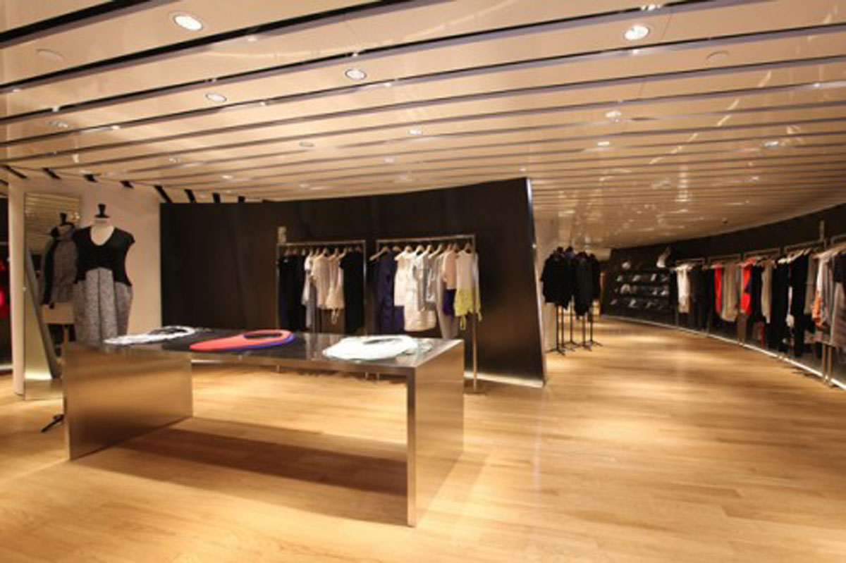 Moderne Stores Luxury Fashion Store Designs Iroonie