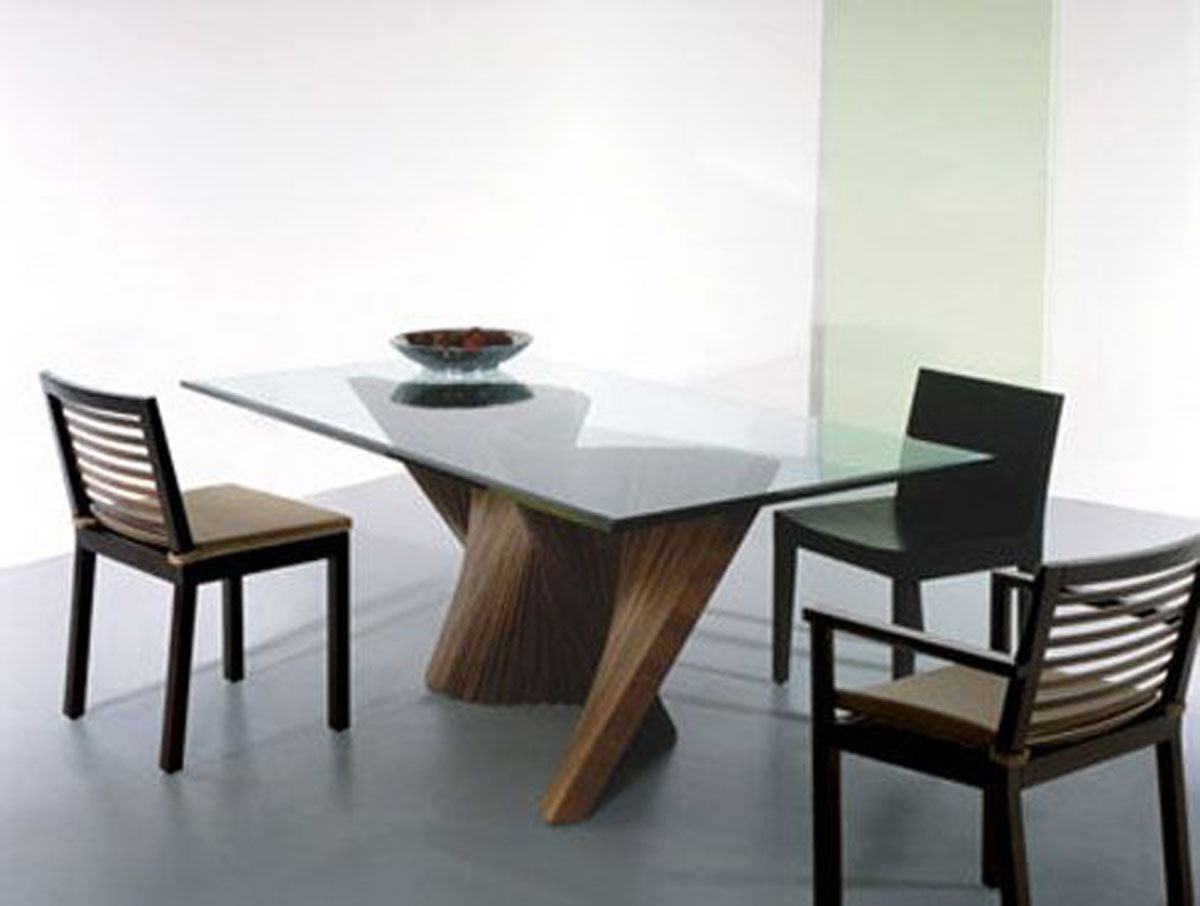 Modern Glass Table Contemporary Glass Dining Room Table Design Iroonie
