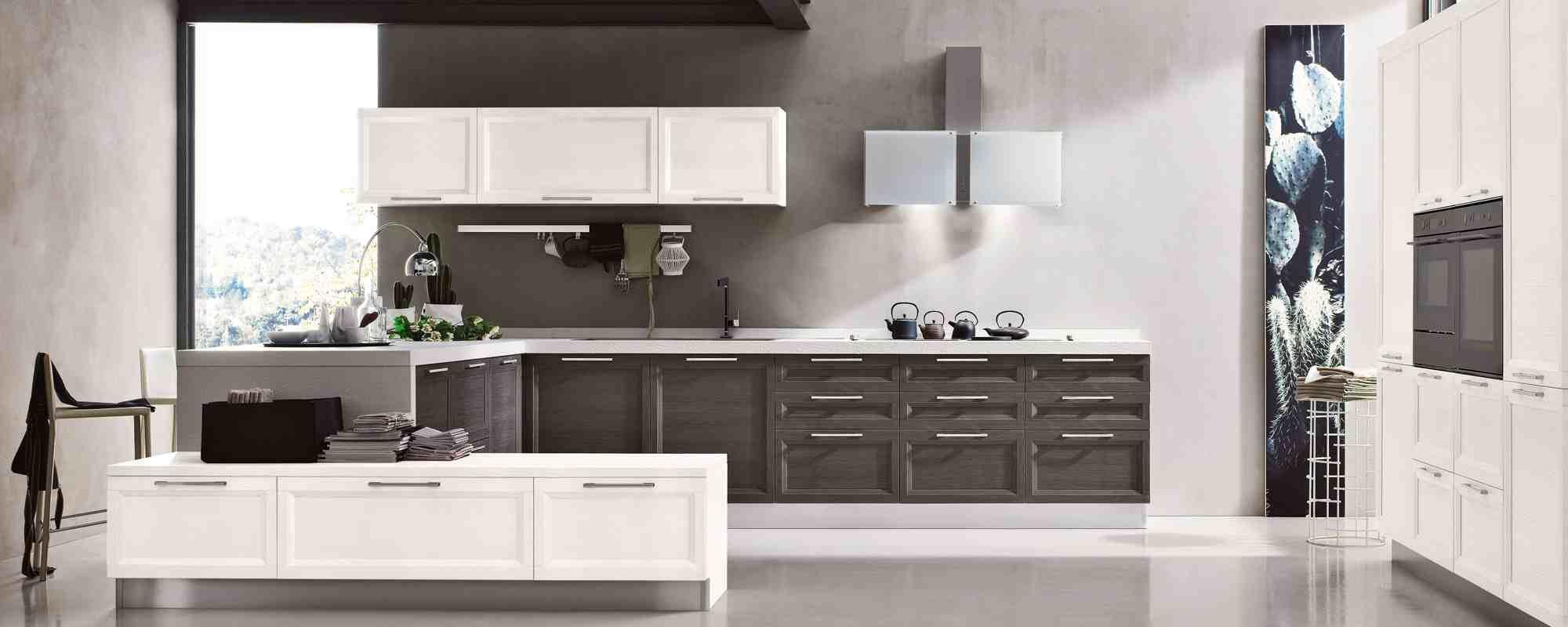 Cucina Laccata Bianca | Cucina Bianca Opaca