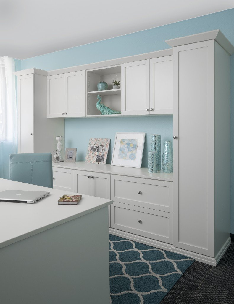 Home Office Cabinets Home Office Organizers Workstation Kansas City Life Uncluttered