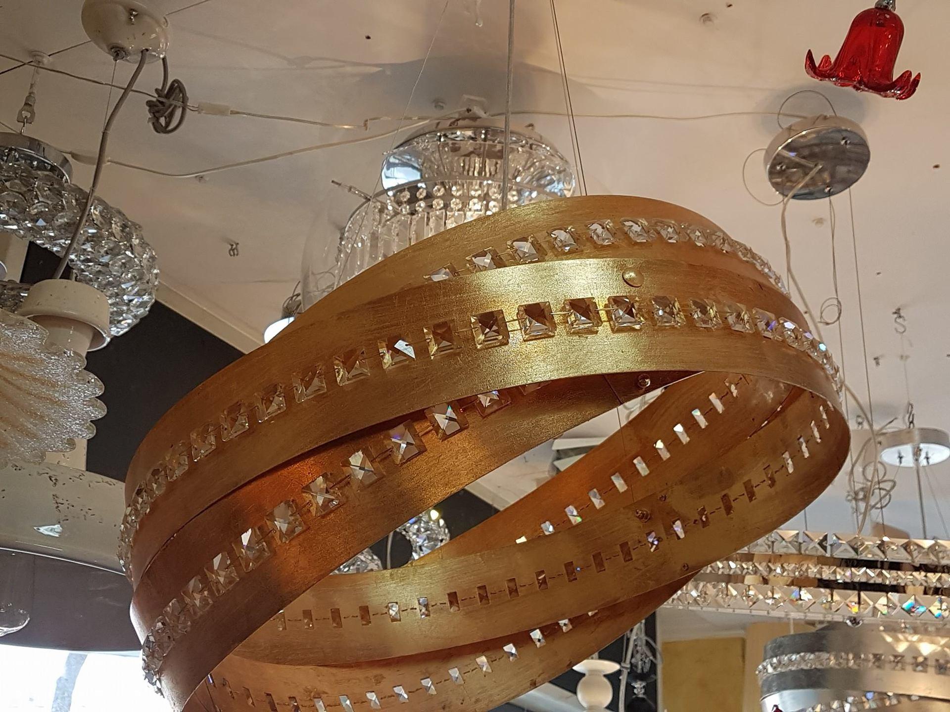 Plafoniere Cristallo Roma : Ideal lux lampada da parete in cristallo serie roma luci