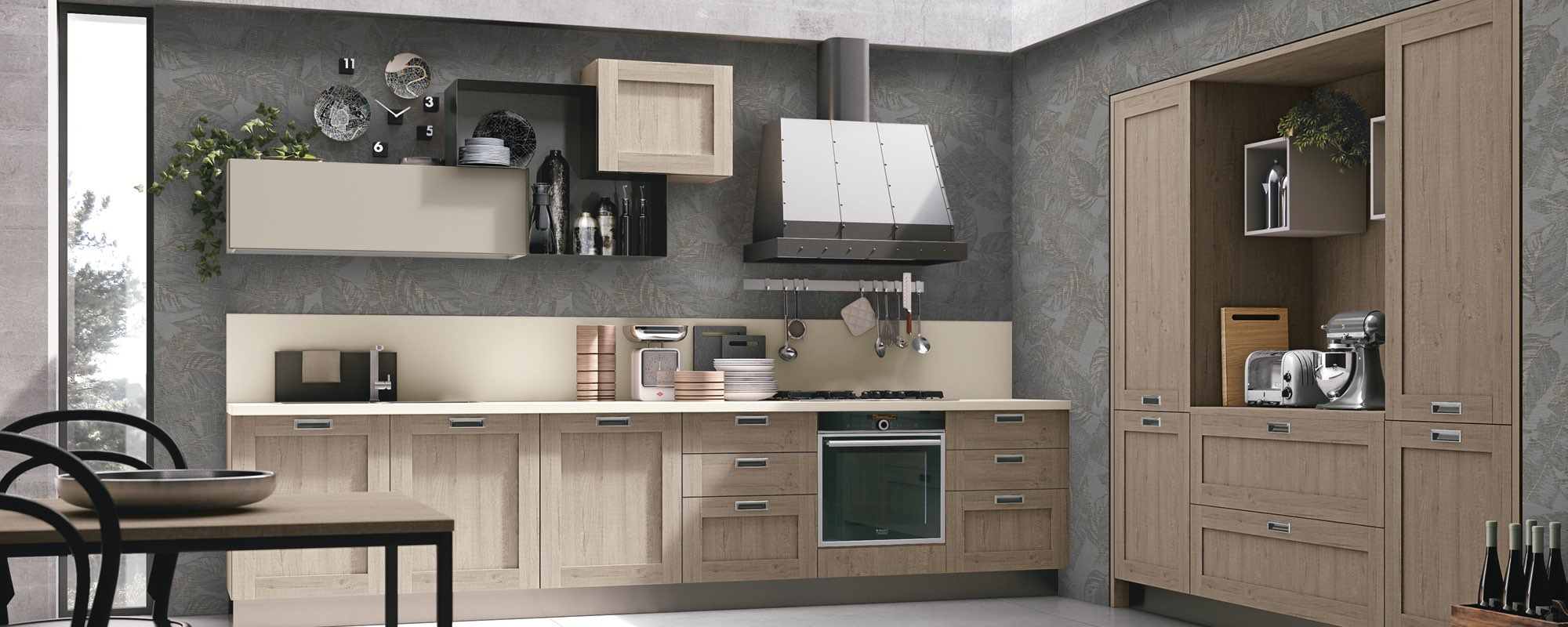 Cucina Stosa Rovere Jeans