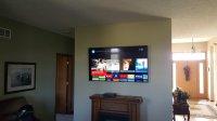 TV Wall Mounting & TV Fireplace Installation & Setup