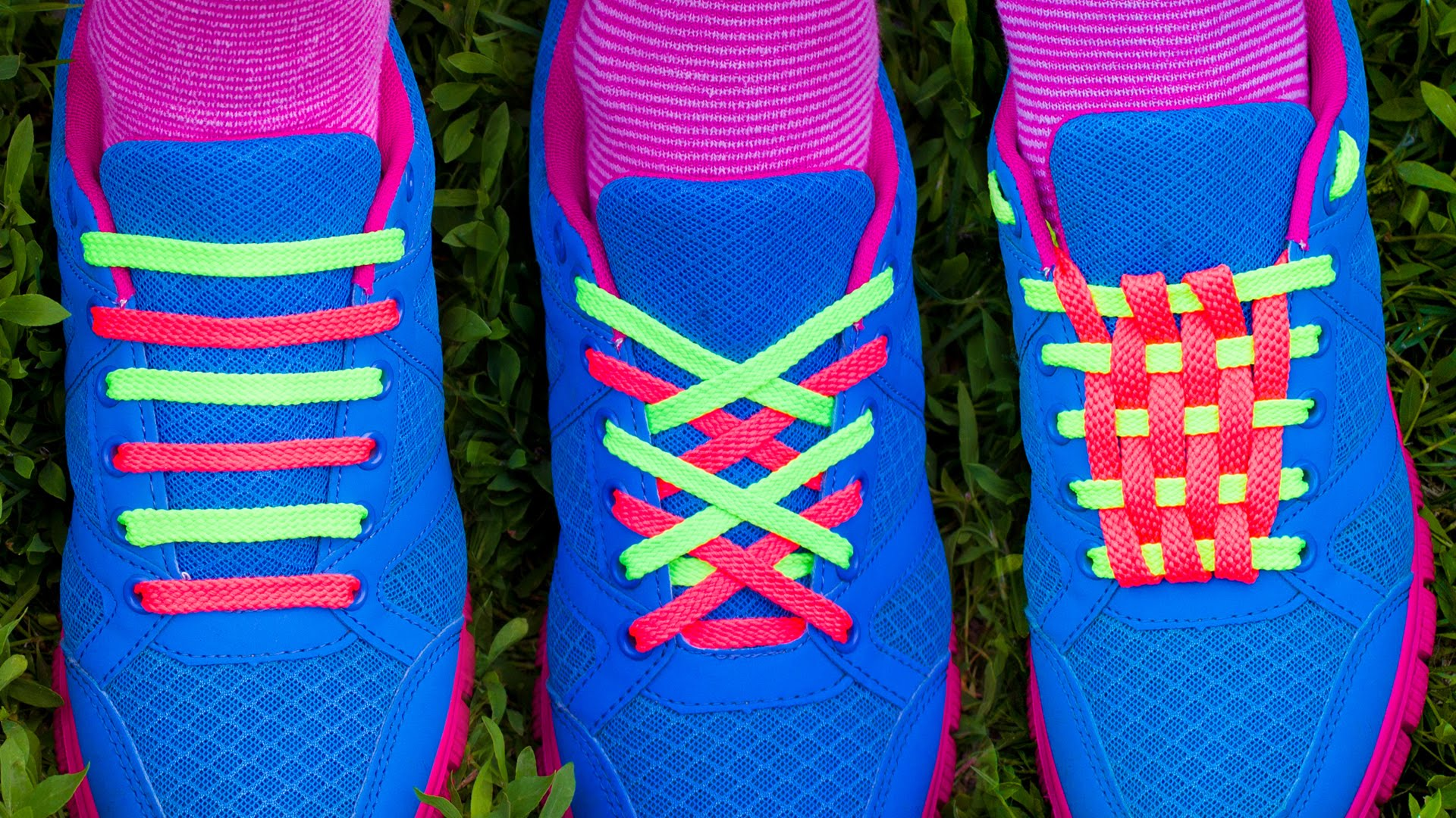 How do you tie your shoelaces?