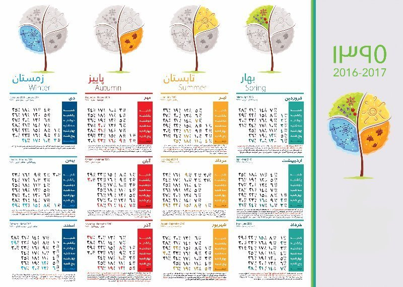 Gregorian Calendar Is Based On 6 Things You May Not Know About The Gregorian Calendar Iranian Calendars